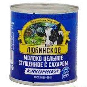 Сгущенное молоко  Любинское ж\б 380гр