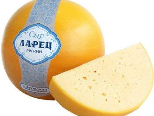 """сыр Ларец """"Легкий"""" 27% шар 1кг"""