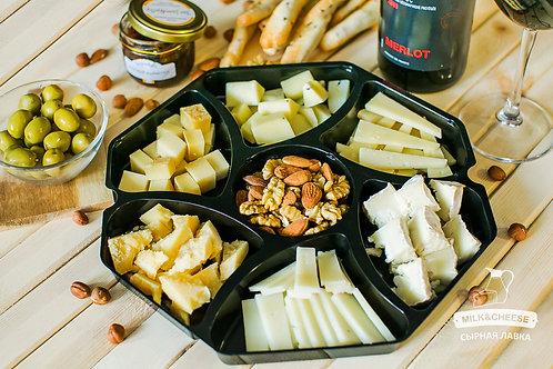 Сырная тарелка к Красному вину