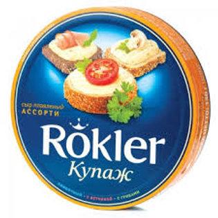 Плавленый сыр треугольники Ассорти Rokler 140 гр.