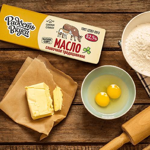 Масло Традиционное 82,5% TM Радость вкуса 400г