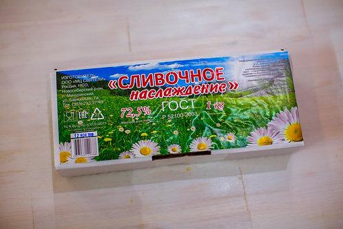 Масло растительно-сливочное Наслаждение 72% 1 кг