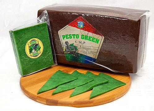 """Сыр """"Pesto Green"""" с базиликом и чесноком ~3кг"""