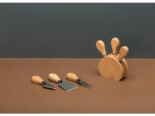 Набор из ножей для сыра на подставке Take it cheesy