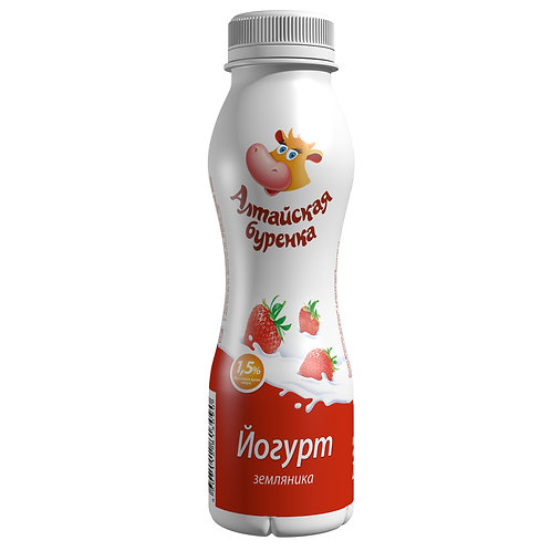 Йогурт  1,5% Алтайская буренка 290гр