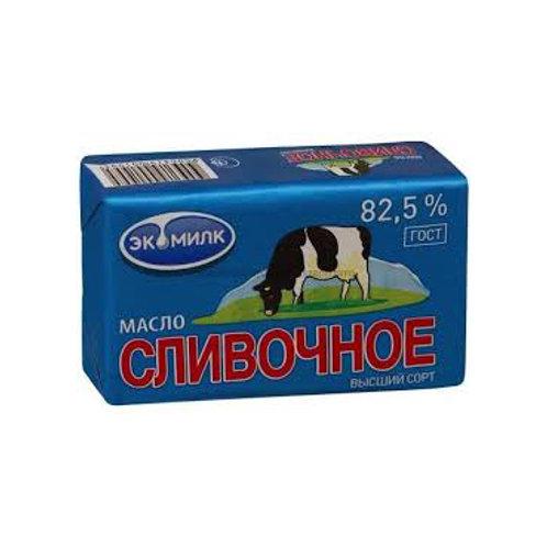 """Масло """"Экомилк"""" Сливочное 82,5%,450 гр."""
