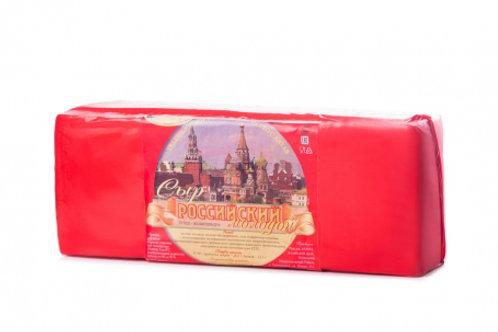 сыр Российский 50%  Брюкке МСЗ, 4 кг