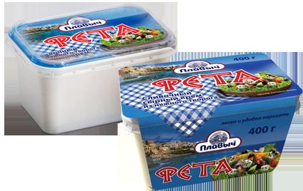 Сыр Фета «Плавыч» ЗПС, 400гр