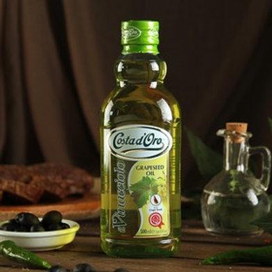 Масло виноградной косточки рафинированное Costa Doro 500мл
