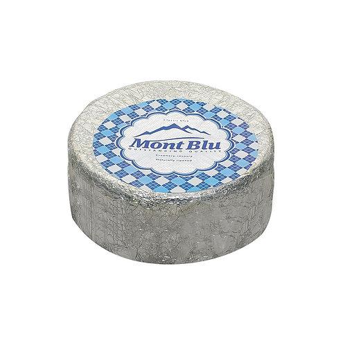 Сыр «Монт Блю» с голубой плесенью 50% голова 2,5кг