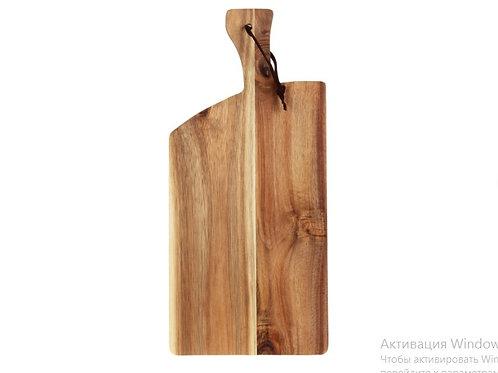 Доска подачи сыра ,закусок из дерева акации