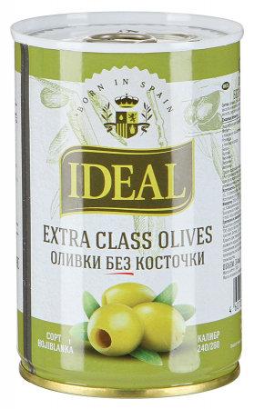 Оливки  без косточки IDEAL EXTRA CLASS 0.3кг