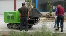海外でも(株)大橋製樹木粉砕機が活躍しています