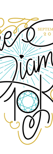 The Diamond 10K Logo