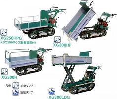 歩行型クローラ運搬車
