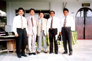1993年7月インドネシアにて