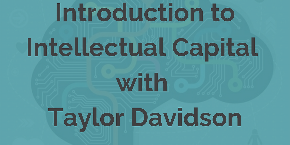 Introduction to Intellectual Capital: From Blank Slate to Exit, Managing Knowledge To Maximize Value