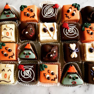 Spooky Petits-Four