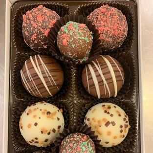 Holiday Dessert Truffles