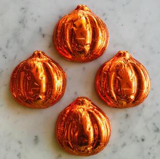 Large Foiled Pumpkin