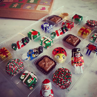 Solid Chocolate Advent
