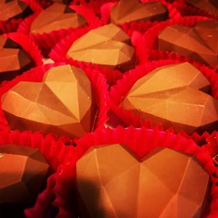 Geometric Heart Bomb