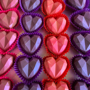 Geometric Heart Bombs