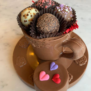 Chocolate Tea Cup