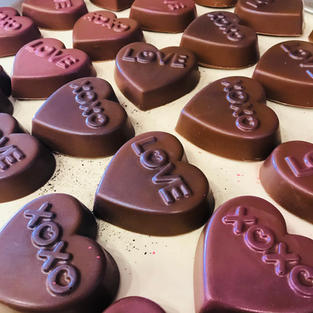 Oreo Cookie Heart