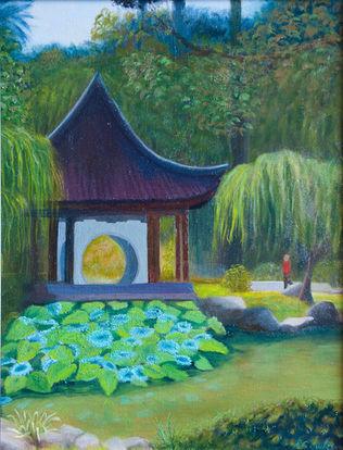 Chinese Pavilion at Huntington Gardens