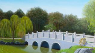 Chinese Bridge at Huntington Gardens