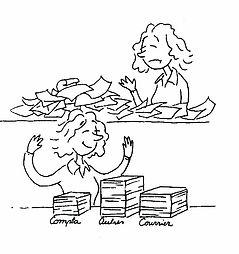 Coment ranger ses papiers  ? morbihan , Vannes, Lorient, assistante administrative
