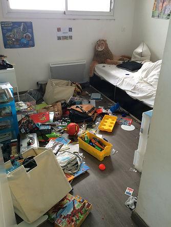 Chambre avant rangement,comment ranger une chambre d'enfant, organiser une chambre d'enfant