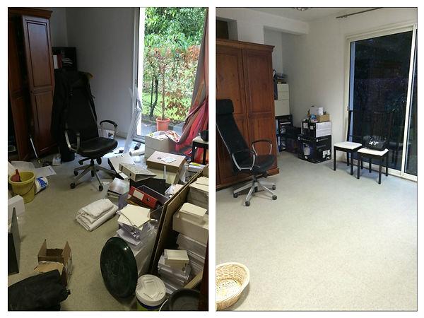 Tri, aménagement, optimisation des espaces, débarras, Morbihan, Klenk En Ti, rangement bureau