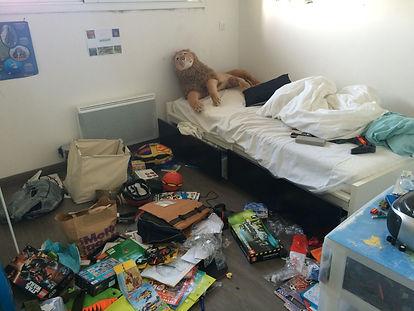 Apprendre à faire son lit, rangement sous le lit, saint avé, Girault Hélène