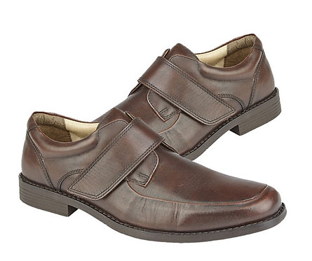 Mocha Brown Leather Casual Shoes