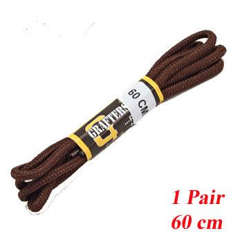 1 PR 60 cm Brown Shoe   Laces