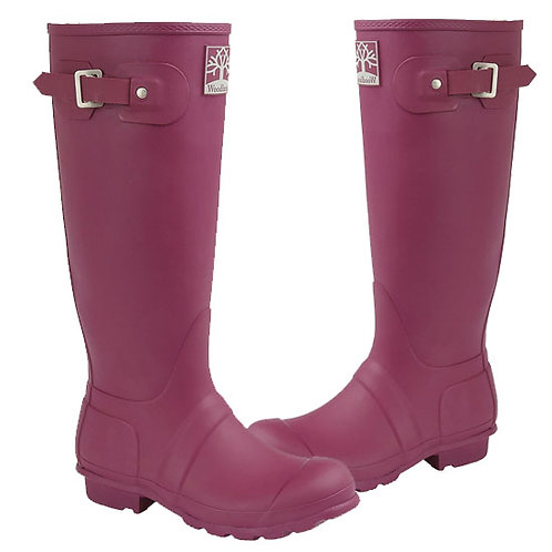 Woodland Ladies Violet Superior Quality Wellington Boots