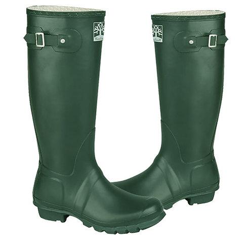 Woodland Mens / Ladies Green Superior Quality WellingtonBoots