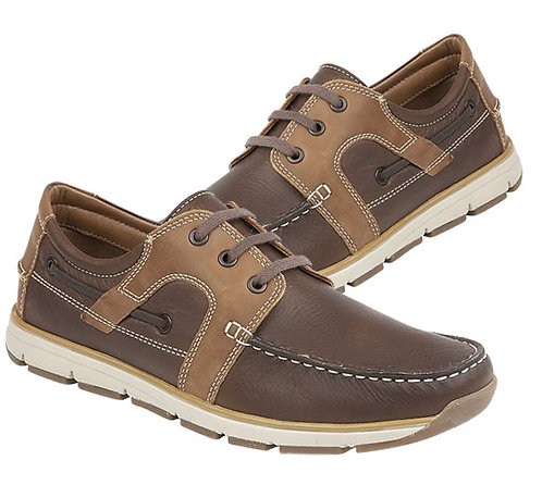 Mens  Leather Moccasin Casual Shoes
