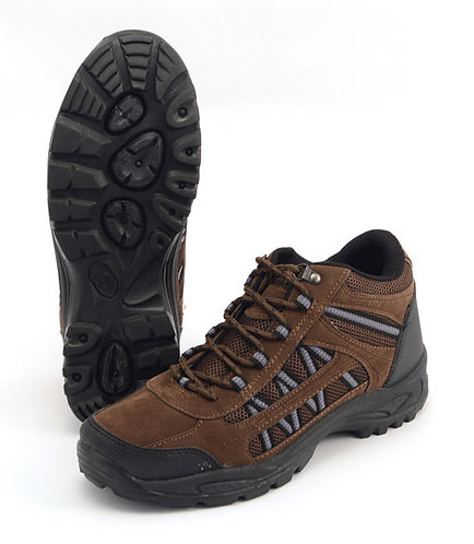 New Unisex Grassmere Trekking Shoes Size 5 in Brown