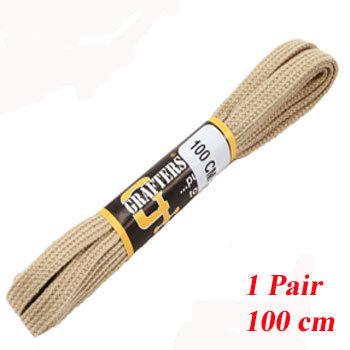 1 PR 100 cm Biege Trainer Laces