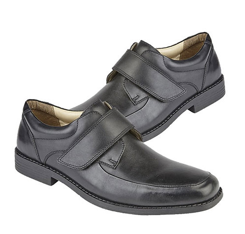 Soft Black Leather Casual Shoes