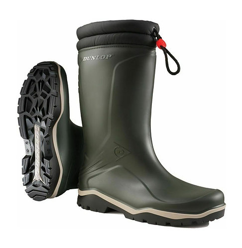 Dunlop Green Toggle Tie Thermal Lined Blizzard Wellingtons
