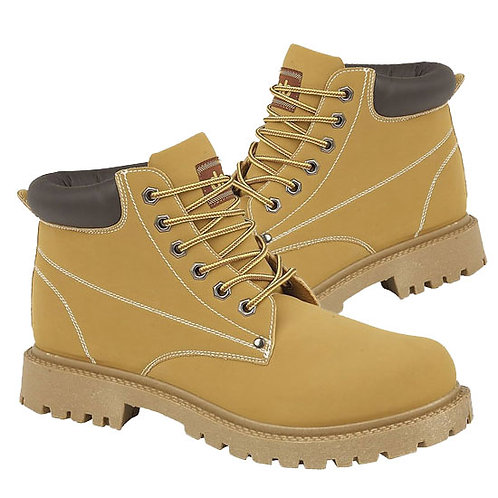 Honey Imit Nubuck Boots