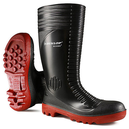 Dunlop Acifort Ribbed Full Safety Wellingtons