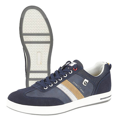 Mens Navy 7 Eye  Casual Shoes