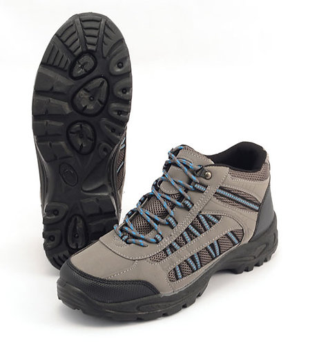 New Mens Grassmere Trekking Shoes Size 8 in Grey