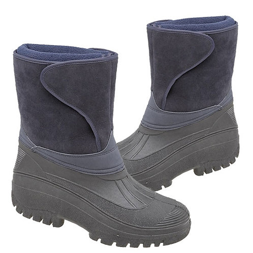 Stormwells mens / Ladies Navy Blue Thermal Boots
