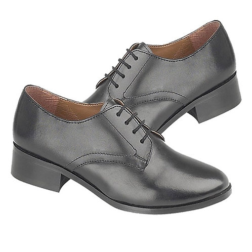 Ladies Leather Uniform Shoes